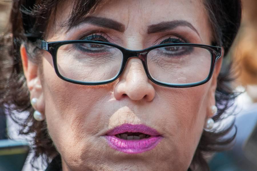 Rosario Robles pregunta si es un trofeo para exhibir un supuesto combate a la corrupción
