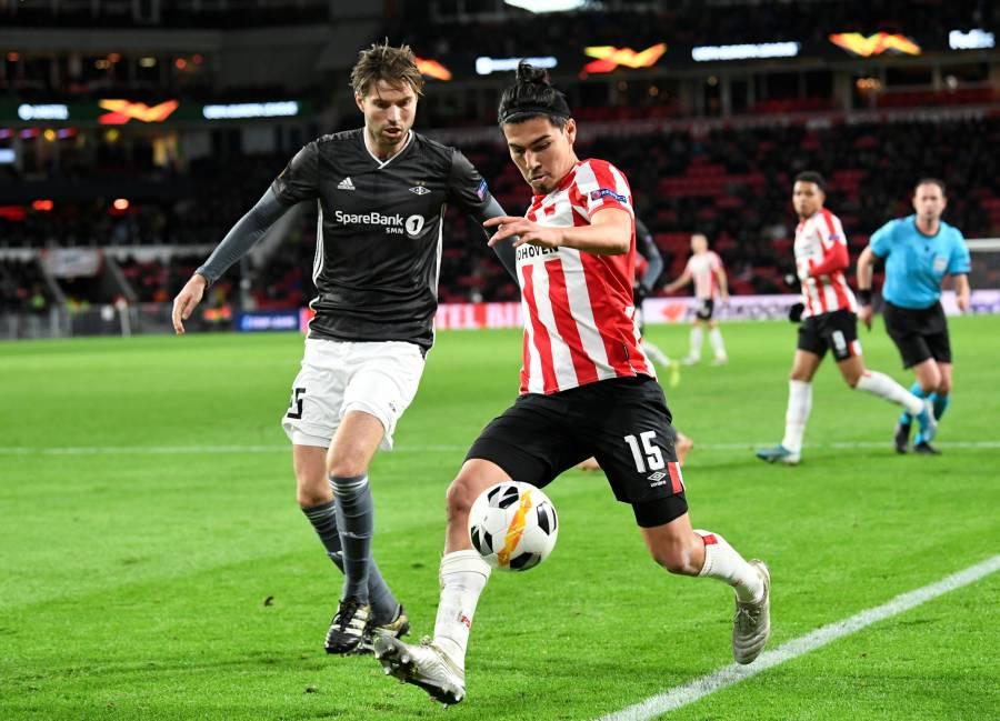 Gutiérrez y el PSV se despiden de la Europa League con empate