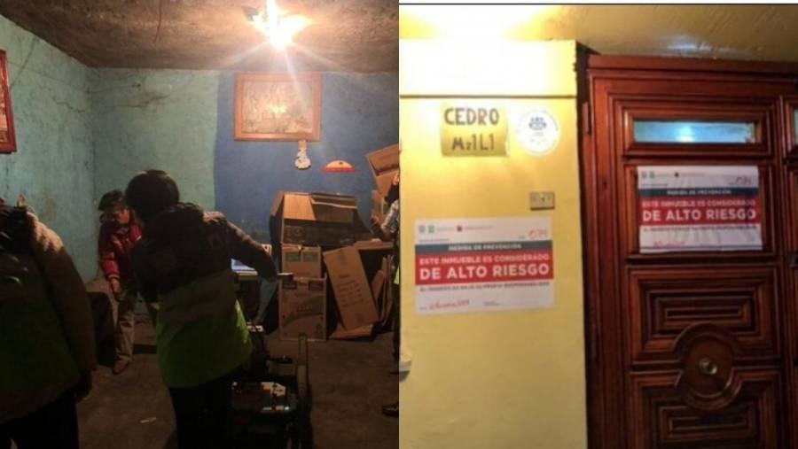Investigan socavón en Iztapalapa