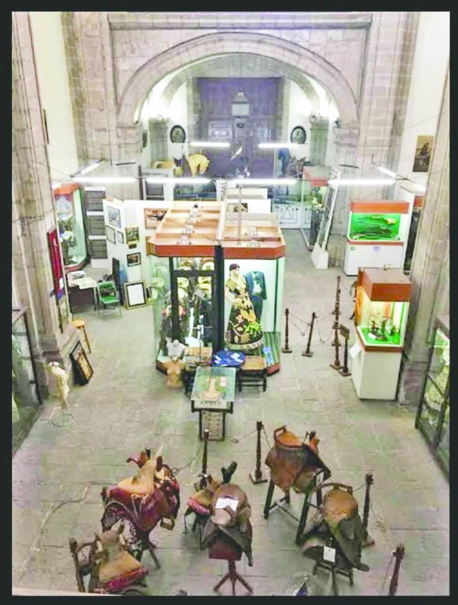 PIEZAS HISTÓRICAS EN EL MUSEO DE LA CHARRERÍA