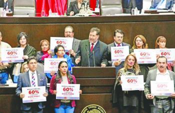 Frenan recorte de 50% a presupuesto de partidos