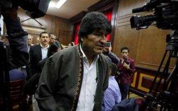 Evo Morales llega a Argentina en calidad de asilado