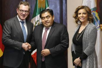 Barbosa busca que Puebla sea el mayor receptor de inversión en México