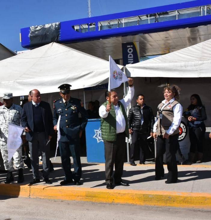 """Municipio Soledad de Graciano Sánchez, comienza operativo """"Bienvenido Paisano"""""""