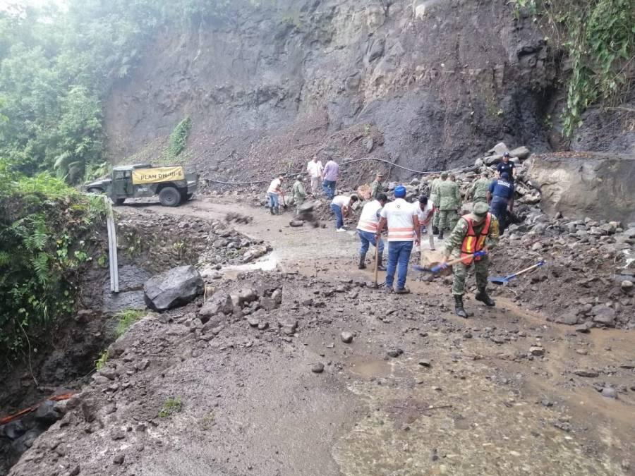 Aplica el Ejército el Plan DN-III-E por deslave en Solosuchiapa