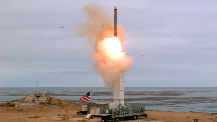 EU lanza misil prohibido por el tratado INF; Rusia expresa alarma