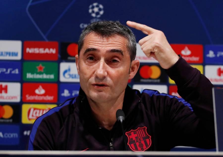 Barcelona, concentrado en la Real Sociedad, no en el clásico: Valverde
