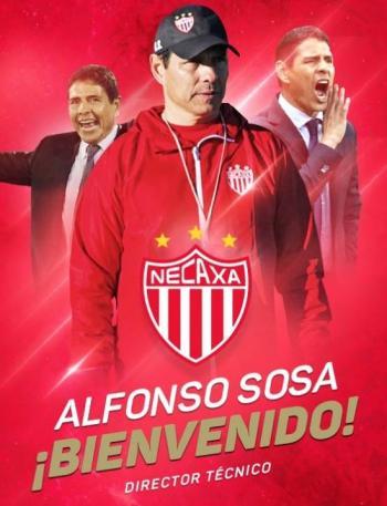 Alfonso Sosa regresa al Necaxa