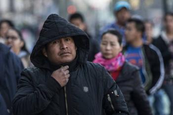 Prevalecerá ambiente muy frío en norte y centro del país