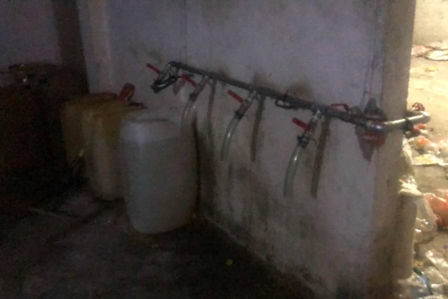 Guardia Nacional Incauta 66 mil litros de huachicol