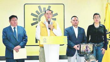 Celebra PRD que INE cite otra vez al Ejecutivo