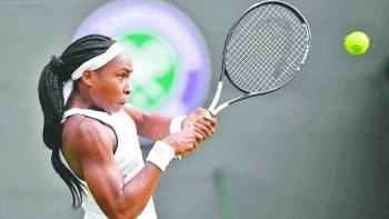 Coco Gauff pisa fuerte en reino de Serena Williams