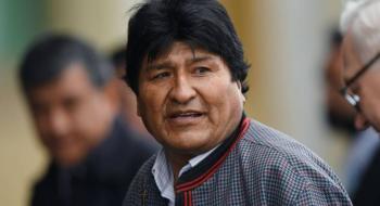 Evo Morales alista campaña presidencial desde Argentina