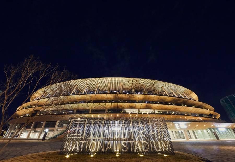 Inauguran Estadio Nacional, sede de los Juegos Olímpicos de Tokio 2020
