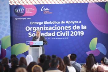Reconoce gobierno de Guanajuato a organizaciones de la sociedad civil