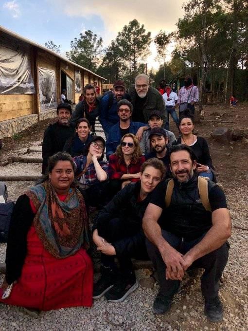 """Presentan en comunidad zapatista, la película """"Polvo"""