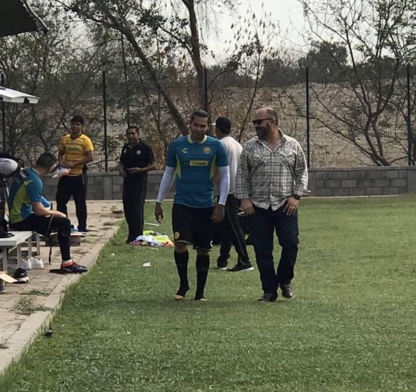 """""""Gullit"""" Peña a prueba con los Dorados"""