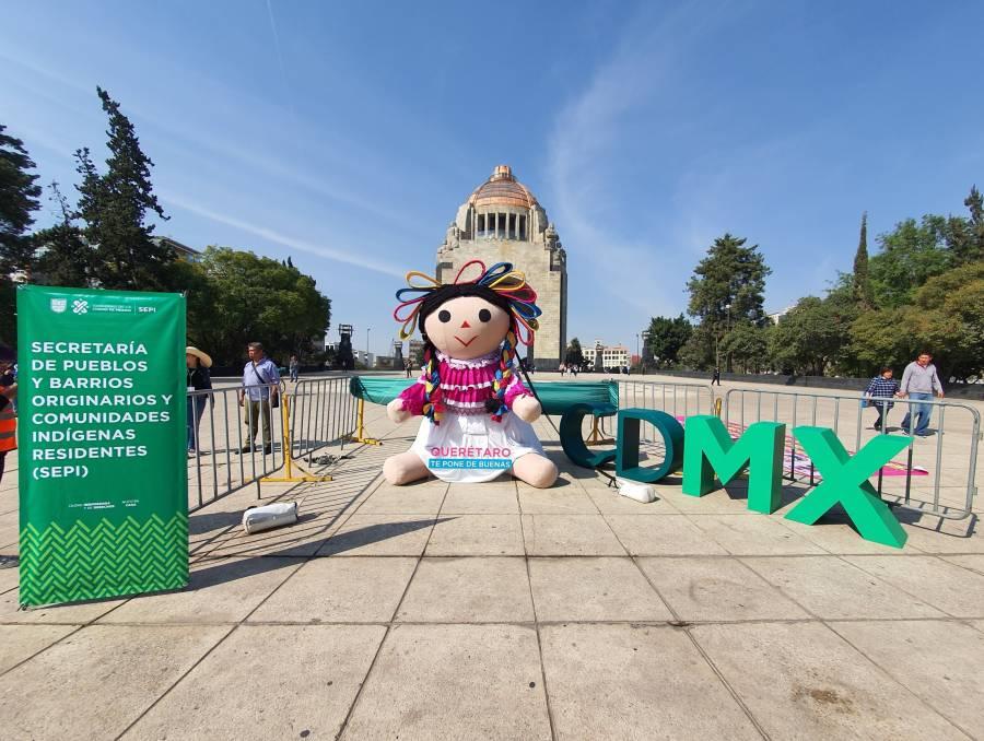Inauguran la Primera Feria de la Muñeca Otomí en Revolución