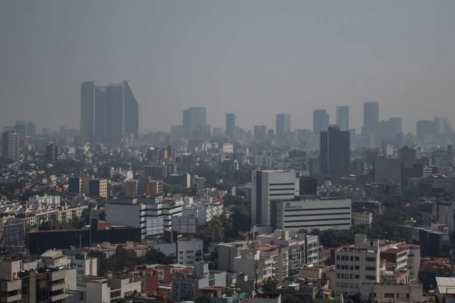 Amanece con mala calidad del aire noreste del Valle de México