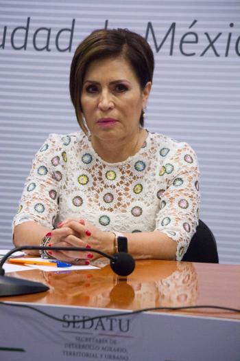 """Presenta Rosario Robles queja ante la CNDH; """"El MP ha faltado a mi derecho al debido proceso"""