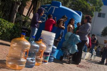 GAM y Azcapotzalco, se preparan para corte de agua
