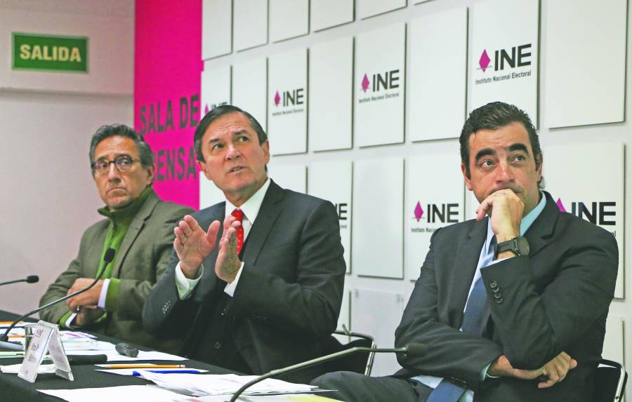 INE no da ni regala registros, afirma secretario ejecutivo