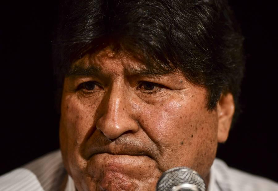 Dictan orden de aprehensión contra Evo Morales
