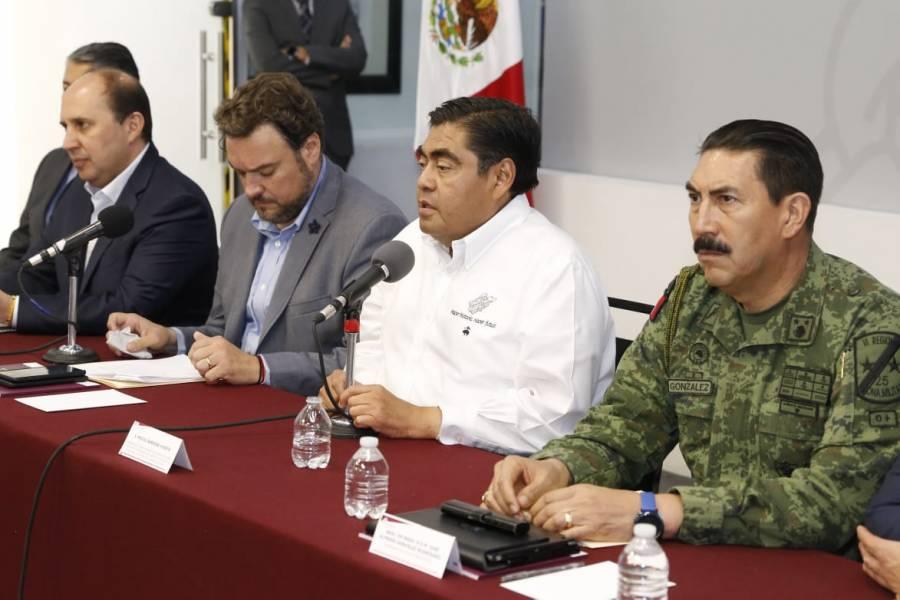 Barbosa convoca para enero al Pacto por la Paz