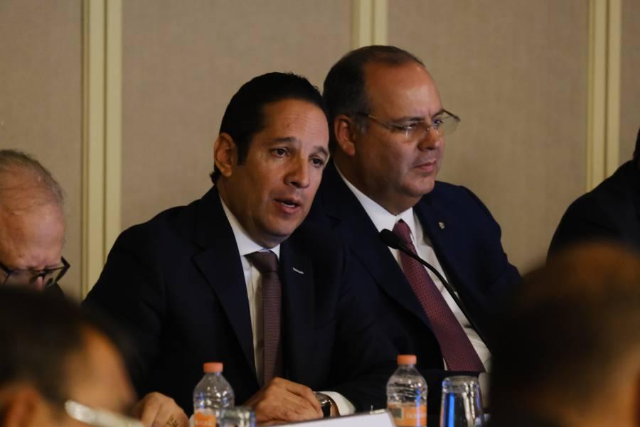 Balconean a gobernadores, pero acuden todos a Consejo de Seguridad