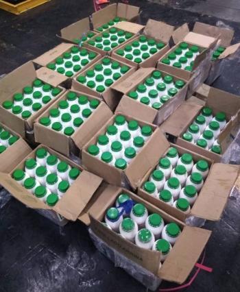 Aseguran 256 kilos de cocaína en el AICM