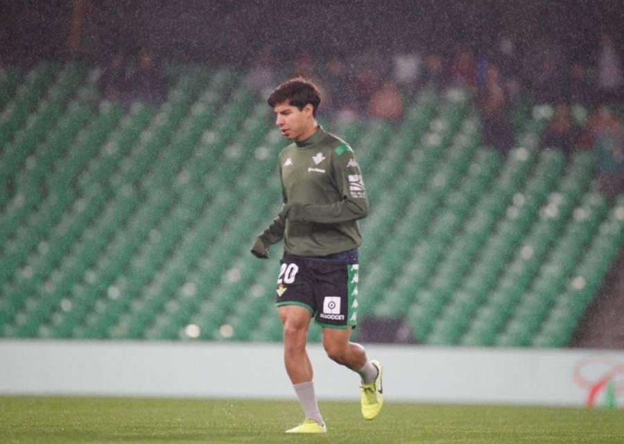 Diego Lainez anota en el triunfo del Betis en la Copa del Rey