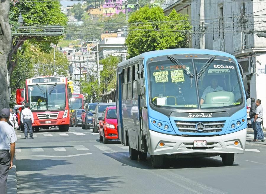 Autorizan que suba a 12 pesos el pasaje en Edomex