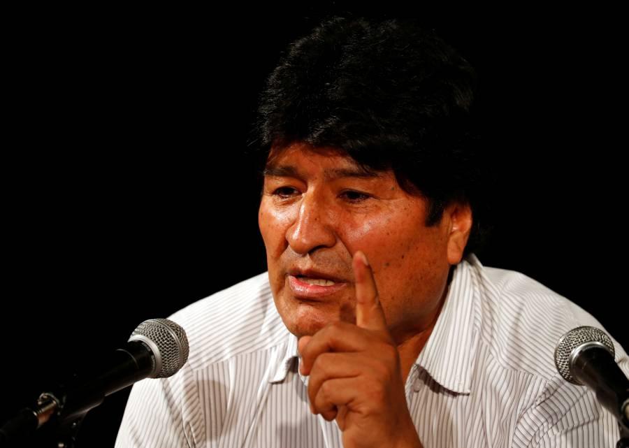 """Dice Evo Morales que """"no procede"""" su arresto porque aún es Presidente"""