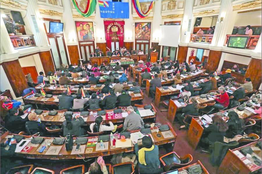 Parlamento de Bolivia elige a  nuevas autoridades electorales