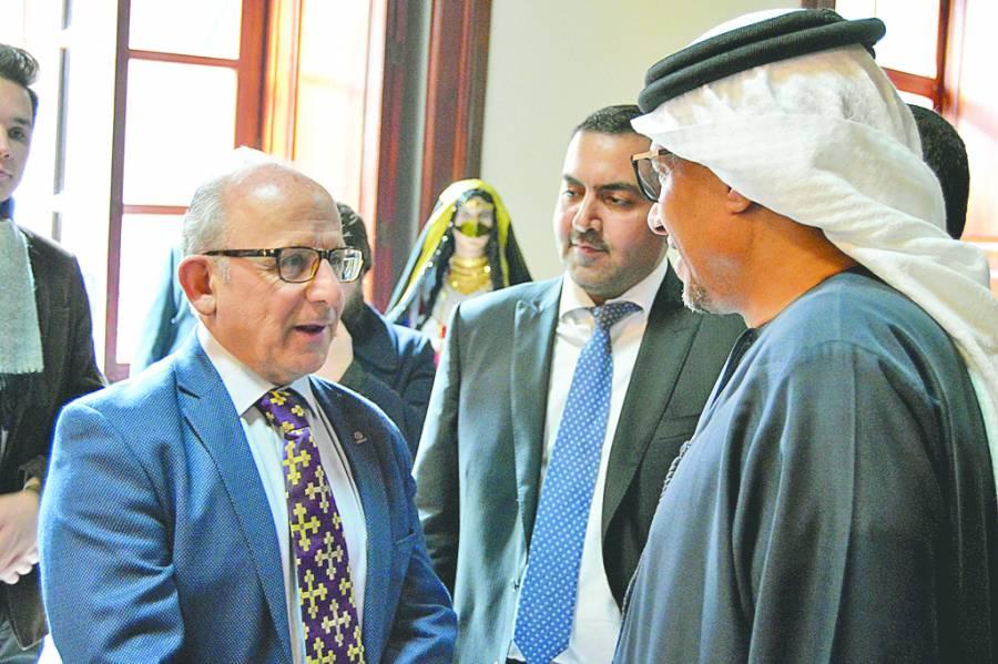 Emiratos Árabes Unidos regala a México 76 tesoros etnográficos