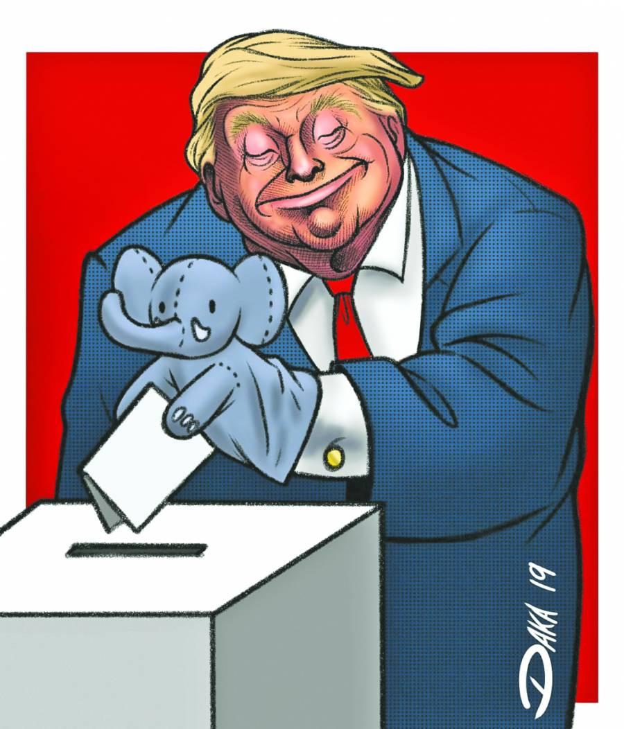 Donald Trump busca exoneración  rápida del Senado en Ucraniagate