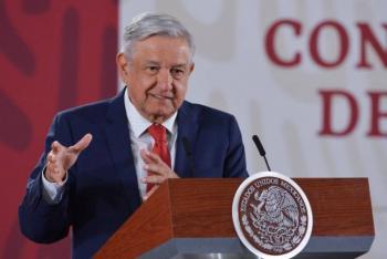Confía AMLO que en breve declare García Luna sobre red de protección al narco