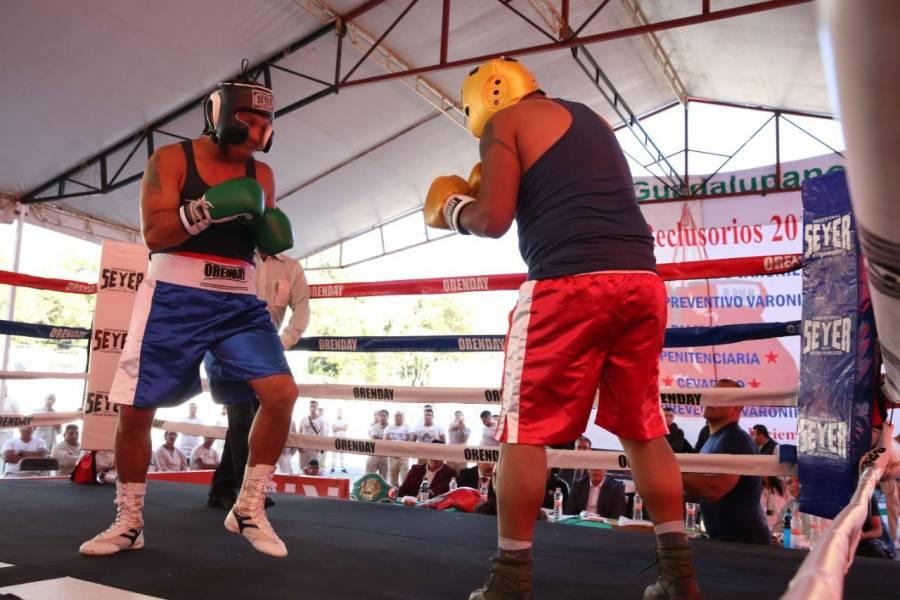 "Celebran ""Torneo Interreclusorios de Box 2019"