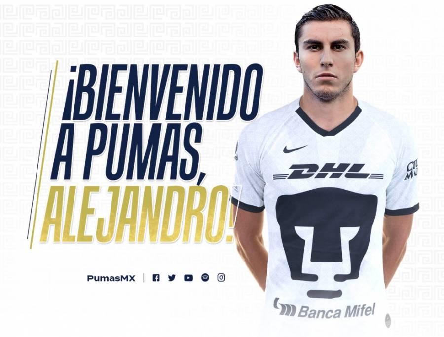 Alejandro Mayorga ya es de Pumas