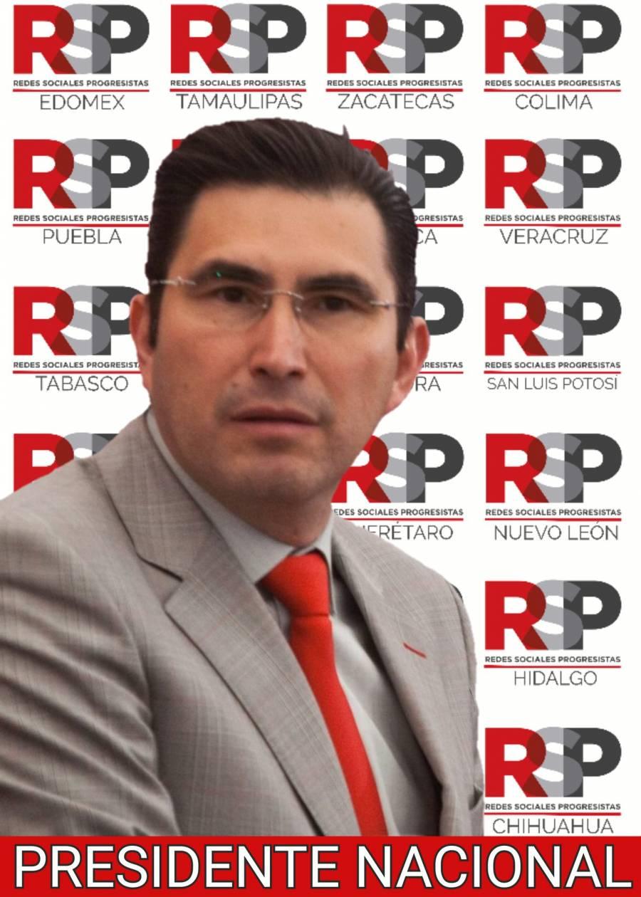 Fernando González Sánchez es representante de Redes Sociales Progresistas