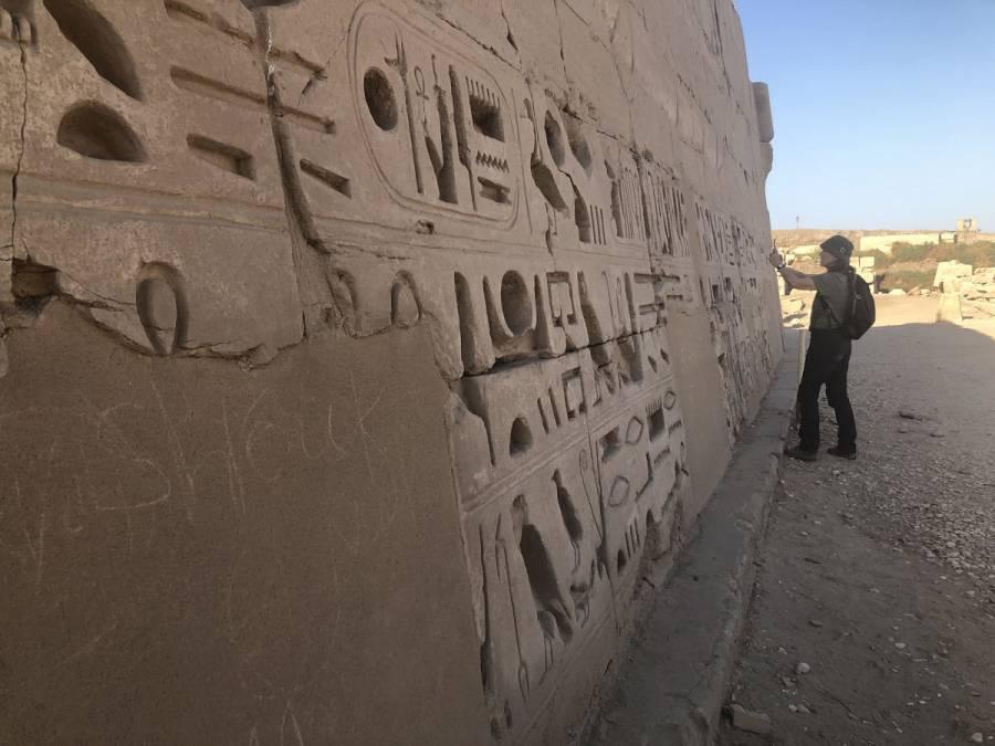 Cambio climático amenaza monumentos históricos en Egipto