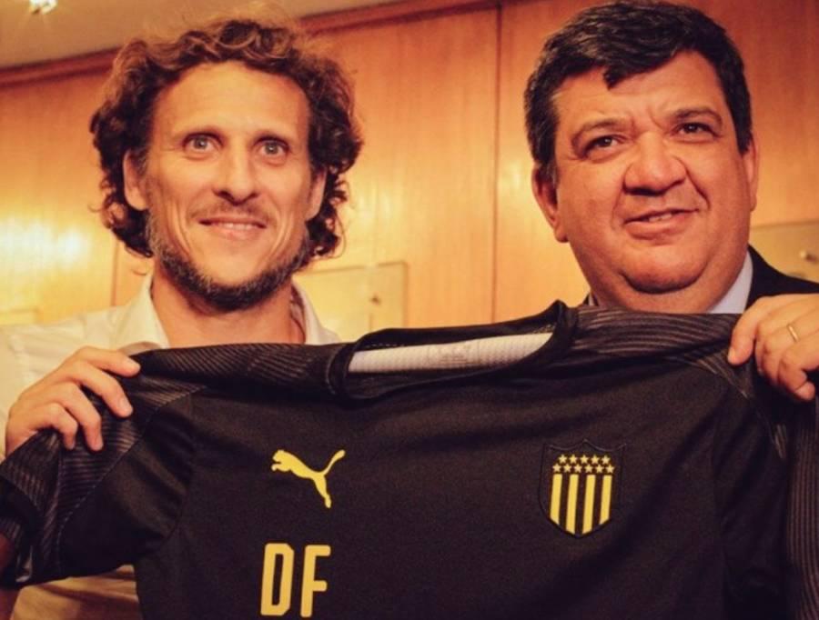 Diego Forlán, nuevo DT de Peñarol