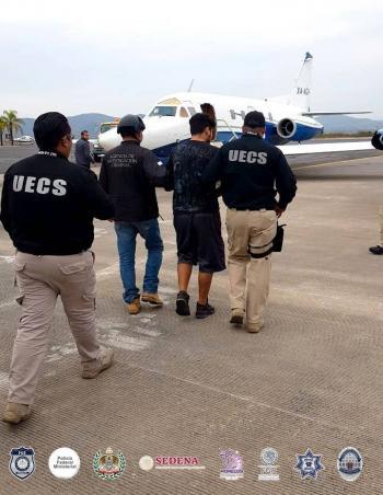 """Detienen a Edwin """"n"""", hijo de """"El Carrete"""", identificado con Los Rojos"""
