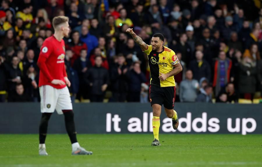 Manchester United cae ante el Watford en el regreso de Pogba