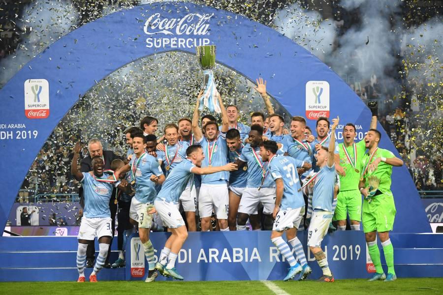 Lazio tumba a la Juventus de Cristiano y se lleva la Supercopa de Italia