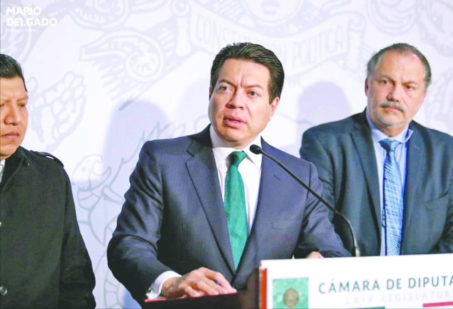 Delgado: Morena insistirá en el recorte a partidos