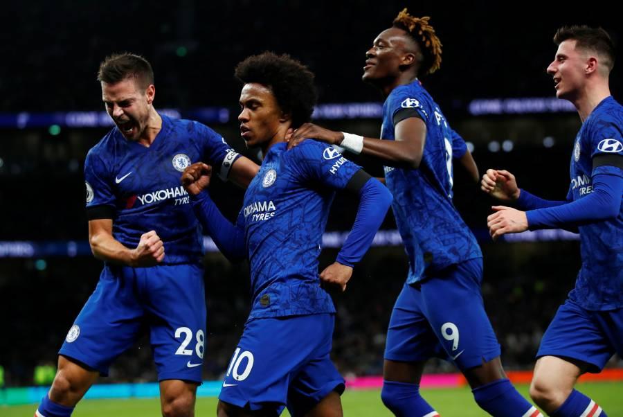 Lampard y el Chelsea ganan de visita al Tottenham de Mourinho