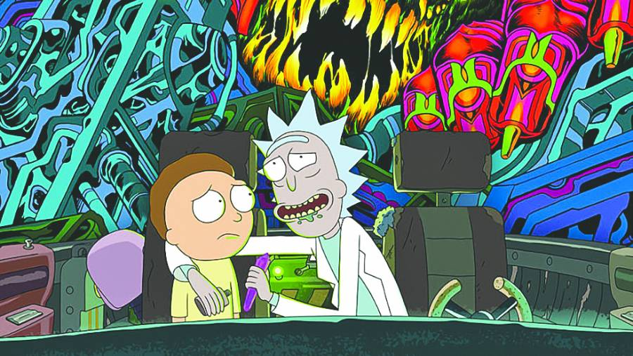 Netflix censura cuarta temporada de Rick y Morty