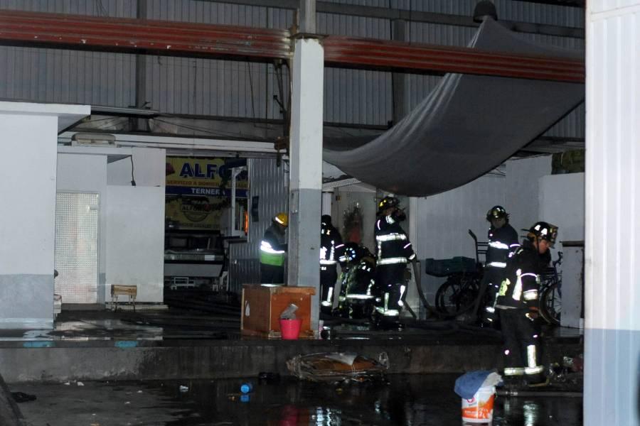 Incendio en Mercado de San Cosme afectó 181 locales