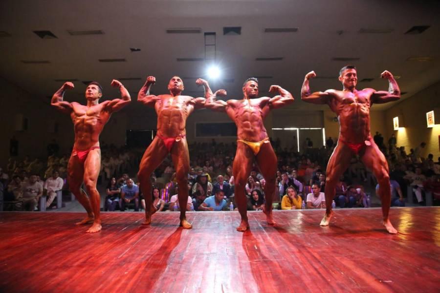 Reclusorio Oriente conquista torneo de fisicoconstructivismo